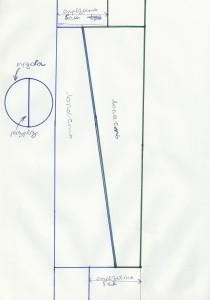 чертеж лопастей, как сделать ветрогенератор